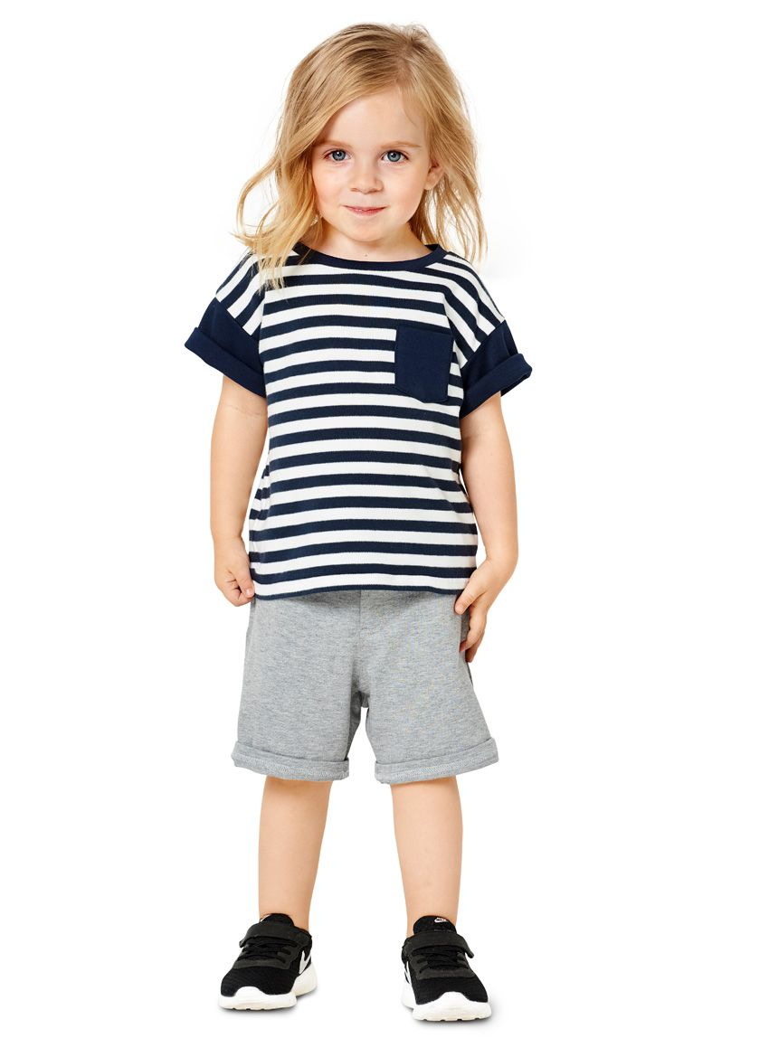 9322 BURDA Schnittmuster Kindershirts EASY!