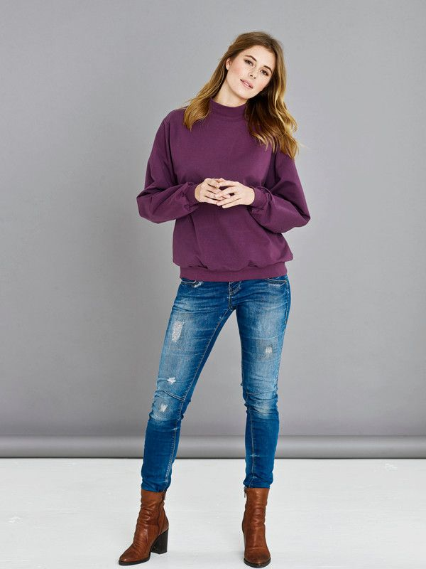 5046 ONION Schnittmuster Oversized Sweatshirt XS-XL EASY!