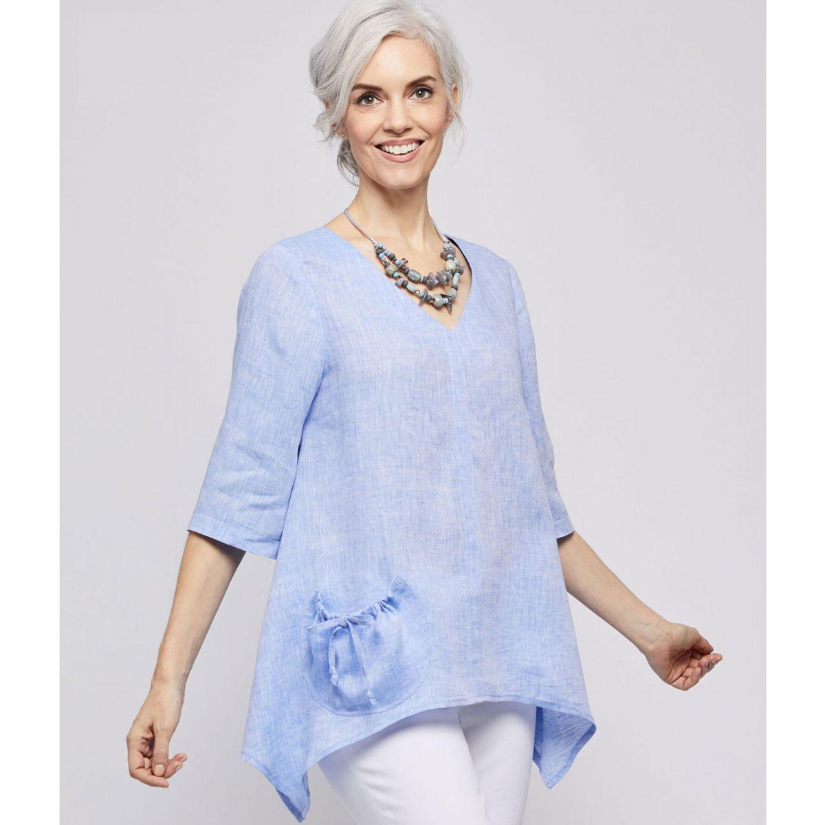 7059 Simplicity Schnittmuster Lagenlook Shirt Top