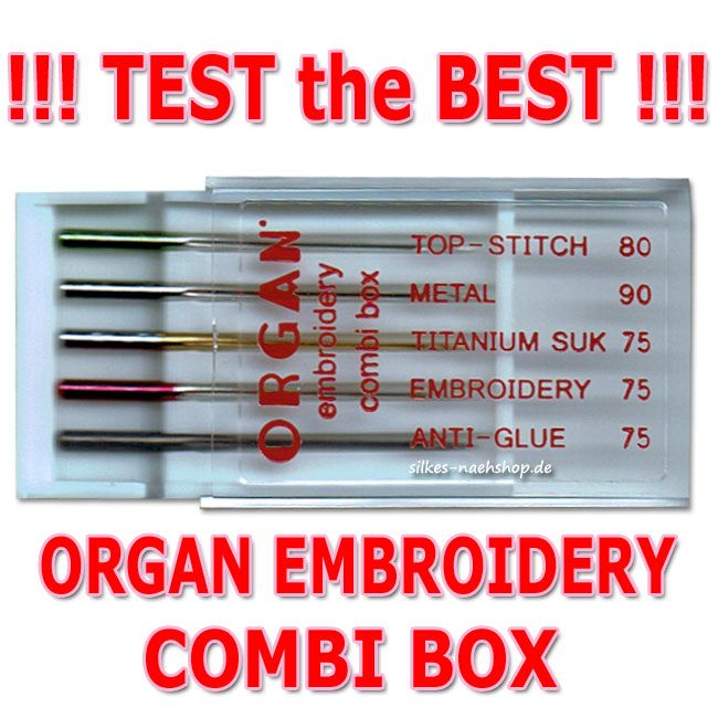 ORGAN Combi Box EMBROIDERY
