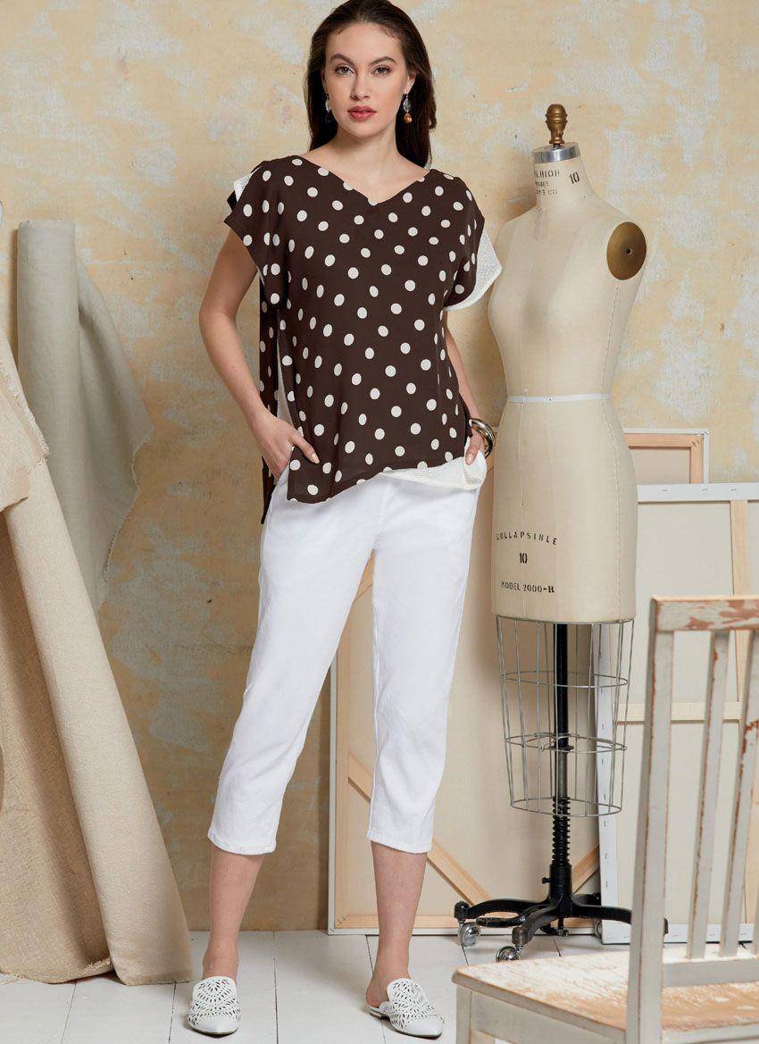 V1630 VOGUE Schnittmuster Shirt Hose