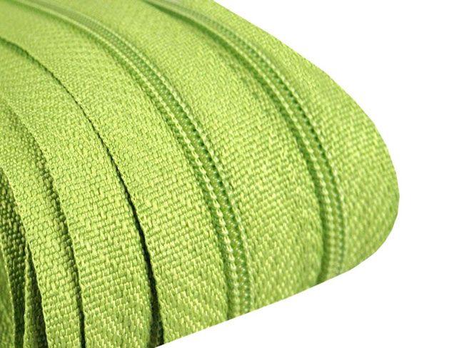 3m Endlosreißverschluß 3mm limegrün
