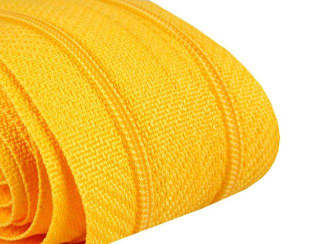 3m Endlosreißverschluß 3mm gelb