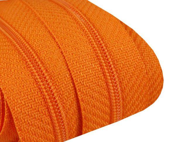 3m Endlosreißverschluß 3mm orange