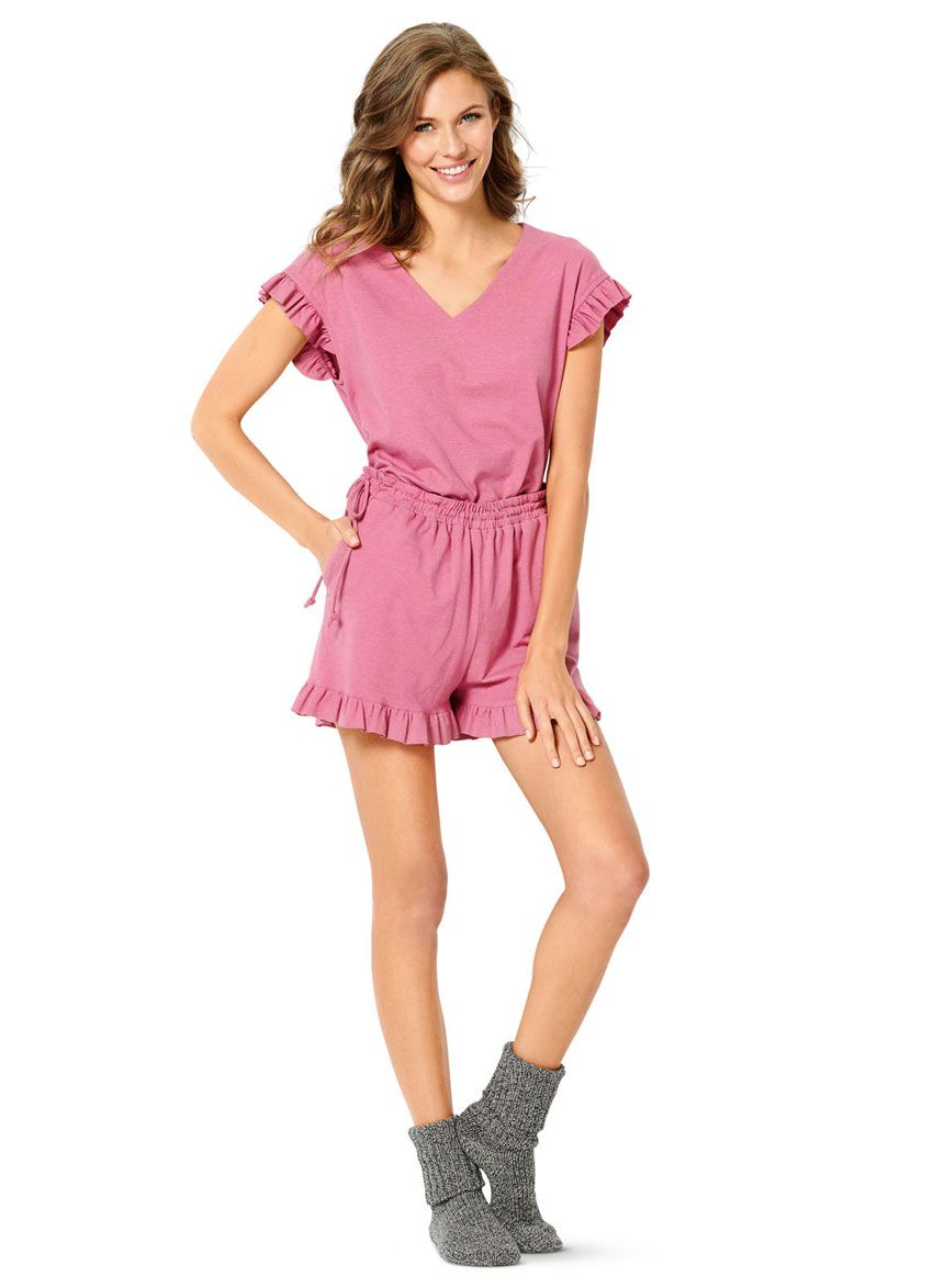 6261 Burda Schnittmuster Pyjama Shorty