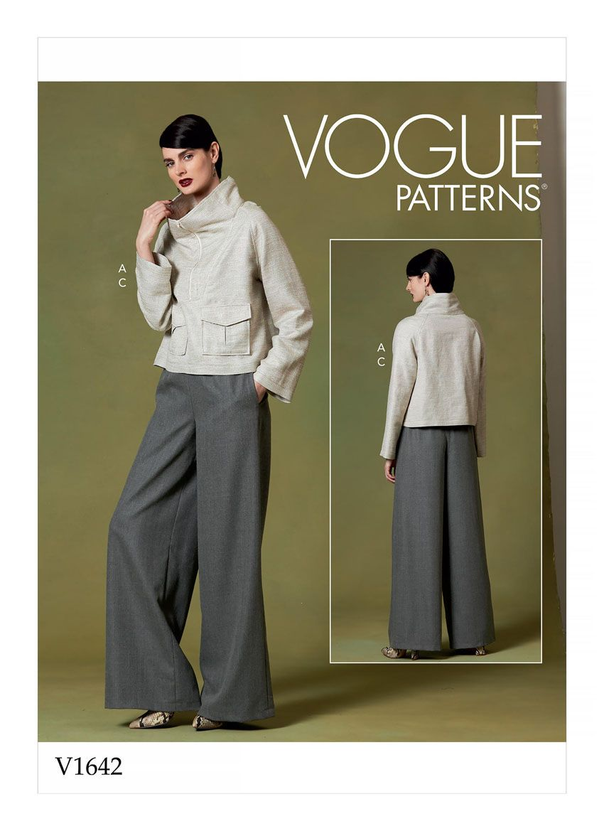 V1642 VOGUE Schnittmuster Shirt Hose EASY