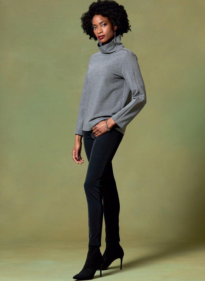 V1635 VOGUE Schnittmuster Shirt Sweatshirt