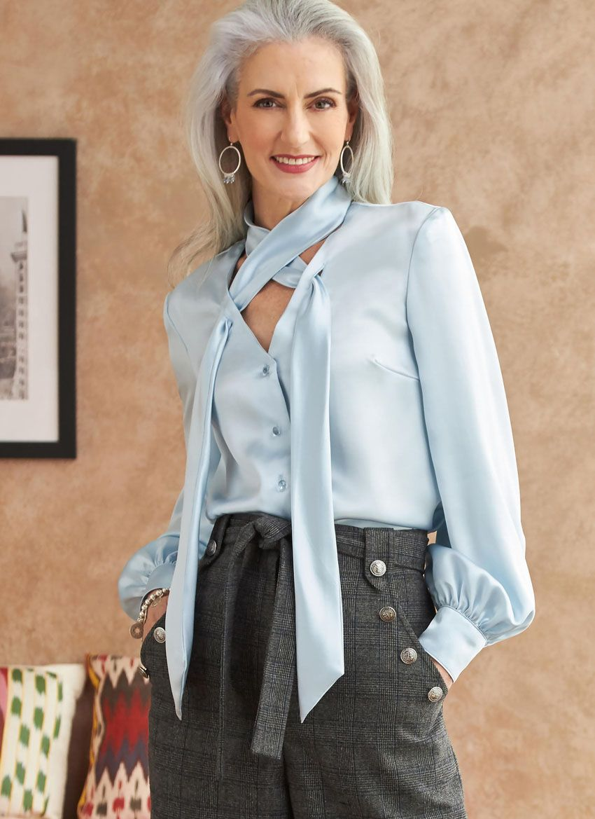 B6710 Butterick Schnittmuster Bluse EASY