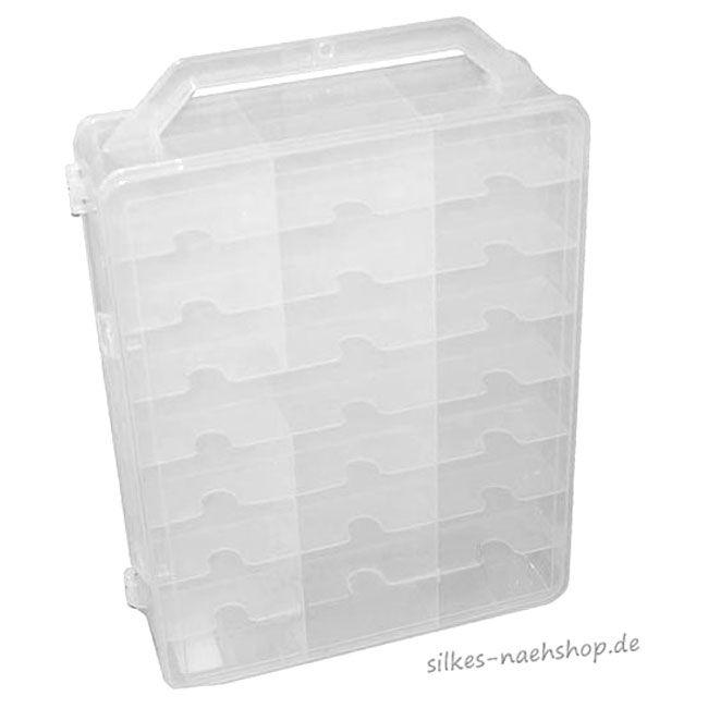 Leerkoffer für Maschinenstickgarn, Nähgarn, etc....
