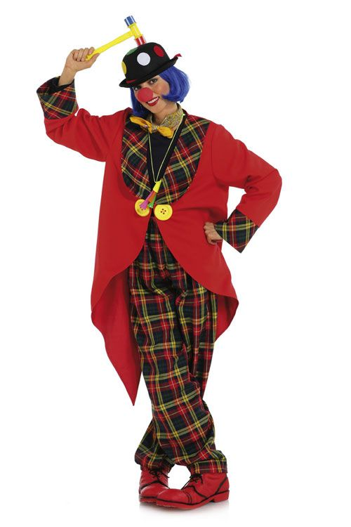 2415 Burda Schnittmuster Karneval - Clown, Pinguin
