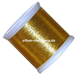 MADEIRA Stickgarn Heavy Metal 200m gold 6033