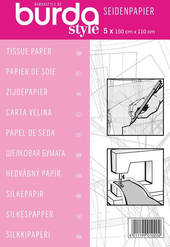 BURDA Seidenpapier