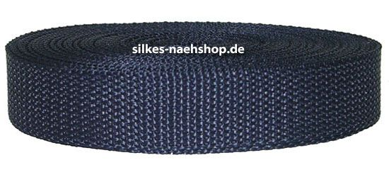 Gurtband 40mm dunkelblau
