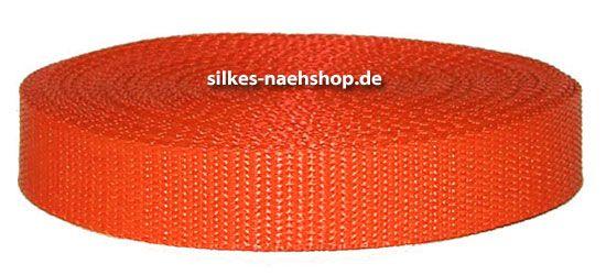 Gurtband 40mm orange