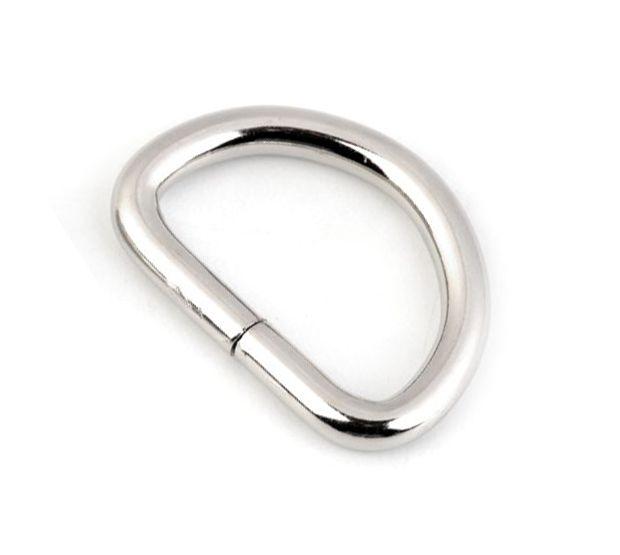 D-Ring silberfarben 20mm