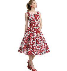 B5748 Butterick Schnittmuster Retro-Kleid 60er