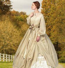 B5831 Butterick Schnitt historisches Kleid