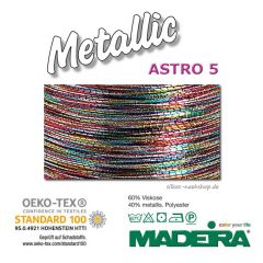 MADEIRA Metallic Stickgarn Multicolor Astro 5