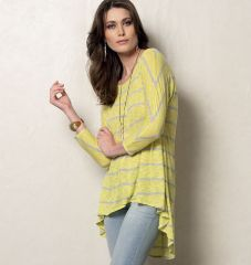 V8952 VOGUE Schnittmuster Shirt Tunika EASY!