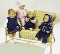 8591 BURDA Schnittmuster Puppenbekleidung