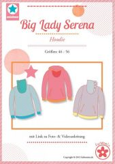 farbenmix Schnittmuster Big Lady Serena Hoodie