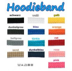 2,5m Hoodieband Kapuzenkordel 8-10mm
