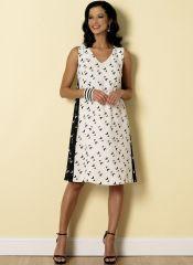 B6317 Butterick Schnittmuster Kleid