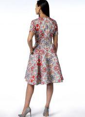 V9202 VOGUE Schnittmuster Kleid EASY!