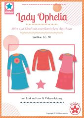 farbenmix Schnittmuster Kleid Shirt Lady Ophelia