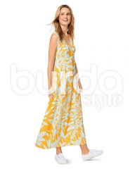 6496 Burda Schnittmuster Kleid