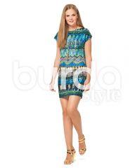 6540 Burda Schnittmuster Kleid Shirt EASY!