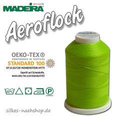 Madeira Aeroflock Bauschgarn kiwi 1000m