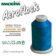 Madeira Aeroflock Bauschgarn blau 1000m