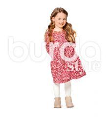 9350 BURDA Schnittmuster Kinderkleid und -Bluse