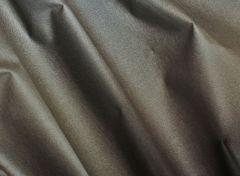 50cm Baumwollstoff beschichtet Metallic-Look schlamm