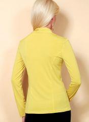 B6517 Butterick Schnittmuster Shirt Wickelshirt