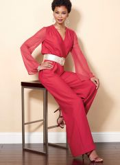 B6522 Butterick Schnittmuster Overall Jumpsuit EASY!