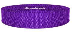 Gurtband 40mm lila