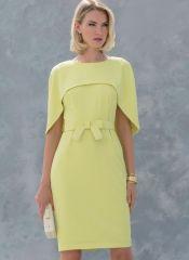 V1579 VOGUE Designer Schnittmuster Kleid