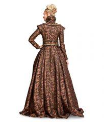 6398 Burda historisches Schnittmuster Renaissance Kleid