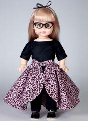B6606 Butterick Schnitt Retro-Puppenkleider 60er Jahre