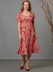 B6586 Butterick Schnittmuster Kleid
