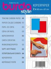 Burda Kopierpapier rot/blau