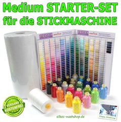 Medium STARTER-SET für die STICKMASCHINE