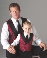 Simplicity Schnittmuster Weste mit Krawatte 4762
