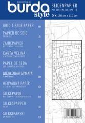 BURDA Seidenpapier mit cm-Raster