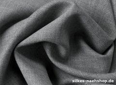 50cm Gabardine grau meliert
