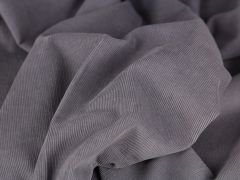 50cm Feincord/Babycord vorgewaschen grau
