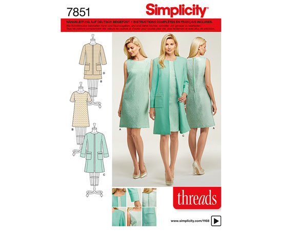 Produktabbildung Simplicity Schnittmuster