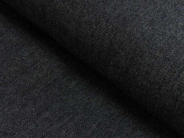Jeansstoff schwarz leicht